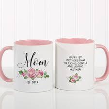 mothers day mugs custom new coffee mug 11oz pink gifts