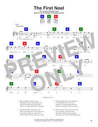 the first noel sheet music by christmas carol chord buddy u2013 166531
