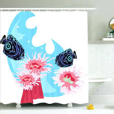 fish shower curtain hooks shower curtain tropical fish animal tropical fish cartoon shower curtain set sea