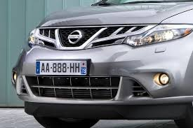nissan murano old model 2011 nissan murano gets revised front styling due to new diesel