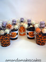 Halloween Cake Pop Cake Pops U2013 Minion Halloween Buckets U2013 Amanda Makes Cakes