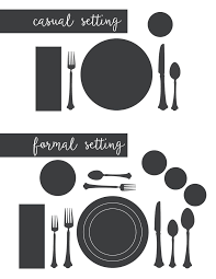 How To Set Silverware On Table Best 25 Table Setting Etiquette Ideas On Pinterest Table