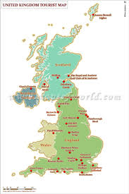 Map Of Wales And England by Uk Travel Map Uk Tourist Attractions Map