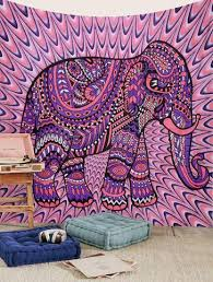 Elephant Decorations Dorm Room Tapestry Elephant Tapestry Hippie Tapestries Bedspread Decor
