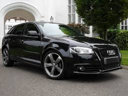 black audi used audi a3 sportback tdi s line special edition black edition