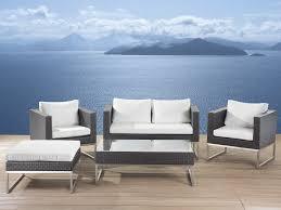 conversation set patio furniture patio conversation set brown rattan crema