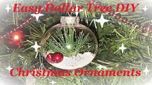 5 dollar tree christmas ornament diy ideas youtube