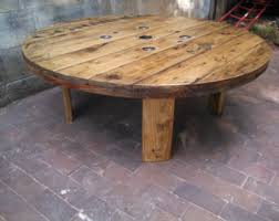 Cable Reel Table by Cable Spool Etsy