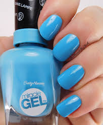 sally hansen miracle gel the digital overload nail polishes