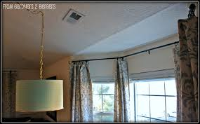 modern curtain rods made of conduits design ideas and decor