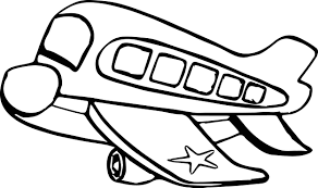 airplane bus coloring page wecoloringpage