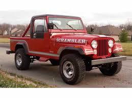 jeep scrambler 1985 jeep cj8 scrambler for sale classiccars com cc 926395