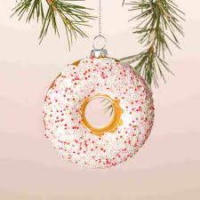 sprinkle donut ornament