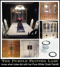 dining room transformation the purple painted lady