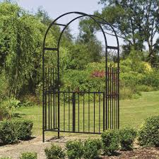 westminster metal garden arch and gates garden arches with gate