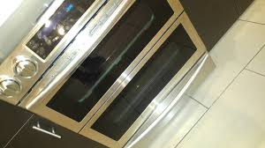 solved ne58f9710ws flex duo slide in oven needs space on sides