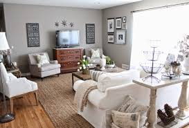 Silver Living Room by 12th And White Modern Meets Traditional Living Room Refresh