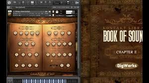 book of sounds ii beat demo sound review kontakt vst