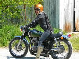 american biker boots image result for 1972 honda cb350 with fork dust boots cb350