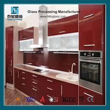 kitchen glass cabinet door manufacturer china flat surfaced kitchen glass cabinet door photos