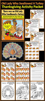thanksgiving activities who swallowed a turkey activity