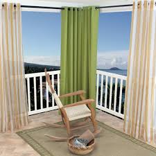 sheer khaki stripe polyester outdoor curtains dfohome