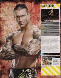 randy orton halloween costume randy ortons wwe tattoo