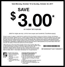 home depot coupon black the home depot canada garden club coupons save 3 00 off on