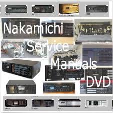 details about nakamichi service manuals dvd cassette deck