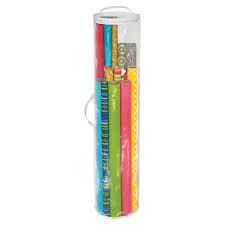 cylindrical gift wrap organizer the container store