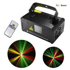 Laser Stage Lighting Outdoor by Dj Beam Effect Laser Light Remote Dmx512 Red Green Yellow Laser