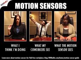Meme Guide - motion sensor guide for a flail free workplace 1000bulbs com blog