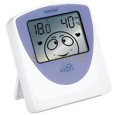 thermometre de chambre bébé thermomètre hygromètre d intérieur baby comfort indicator 100