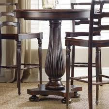 Pedestal Bar Table Hooker Furniture Eastridge 42 In Pedestal Pub Table 5177 75202