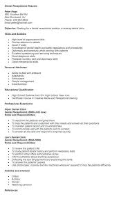 Hotel Resume Examples Medical Receptionist Resume Examples Resume Example And Free
