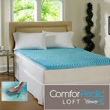 King Size Memory Foam Mattress Topper Amazon Com Beautyrest 2 Inch Sculpted Gel Memory Foam Mattress