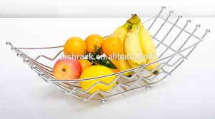 modern fruit holder 2014 fashion home decor gift basket wire fruit holder hanging metal