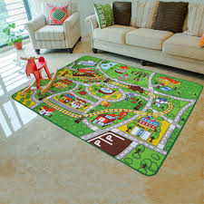 Kids Race Track Rug by Aliexpress Com Buy Yazi Funny Racing Track Soft Carpet For
