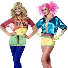 80s Workout Halloween Costume 80s Workout Costume Leg Warmers Fancy Dress Ladies 1980s