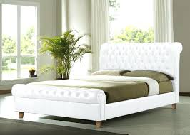 bed frames white double bed frame white leather u2013 successnow info