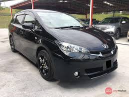 toyota wish 2011 toyota wish for sale in malaysia for rm79 800 mymotor