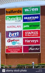 retail park stock photos u0026 retail park stock images alamy