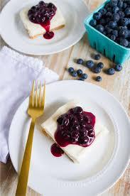 Cheesecake Decoration Fruit No Bake Cheesecake Bars With Blueberry Sauce Thirty Handmade Days