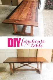 Make A Dining Room Table How To Make Your Own Farmhouse Table Farmhouse Table Base
