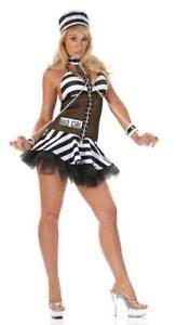 Prisoner Halloween Costumes Convict Prisoner Bad Halloween Costume Ebay