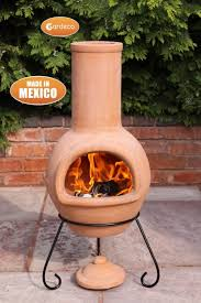 Red Clay Chiminea Colima Mexican Chiminea Large Chimineashop Co Uk