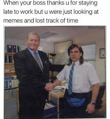Lost Memes - dopl3r com memes when your boss thanks u for staying late to