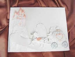 wedding guest registry book cinderella coach castle wedding guest registry book ebay