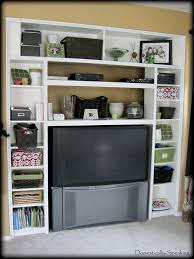 home design built in bookshelves with tv accessories decorators