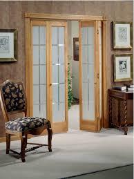 Wooden Bifold Doors Interior Surprising Interior Bifold Doors With Glass Inserts Ideas Ideas